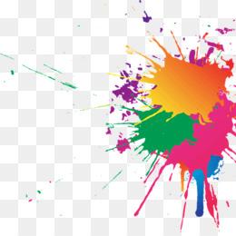 Яркие кляксы | Бесплатный вектор