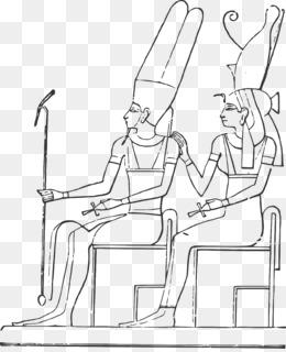 древнего египта божества египетских пирамид раскраска мумия